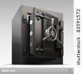 bank safe. vector illustration | Shutterstock .eps vector #83591572