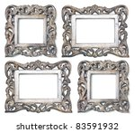 four wooden picture frames... | Shutterstock . vector #83591932