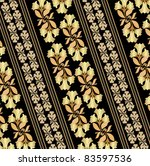 floral wall paper pattern | Shutterstock .eps vector #83597536