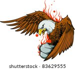 vector tattoo eagle | Shutterstock .eps vector #83629555
