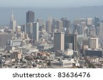 aerial view of downtown   san... | Shutterstock . vector #83636476