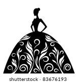vector symbol of ornamental...   Shutterstock .eps vector #83676193