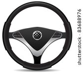 steering wheel | Shutterstock .eps vector #83688976
