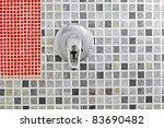 open water in the bathroom with ... | Shutterstock . vector #83690482