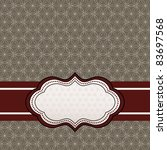 background pattern    label | Shutterstock .eps vector #83697568