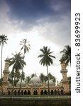 masjid jamek the heritage of... | Shutterstock . vector #83699923