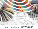 palette of colors designs for... | Shutterstock . vector #83704435