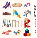 cartoon park playground icon | Shutterstock .eps vector #83735935