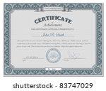 vector illustration of detailed ... | Shutterstock .eps vector #83747029