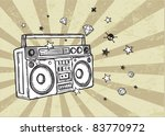 retro background | Shutterstock .eps vector #83770972