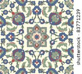 Arabesque Seamless Pattern In...
