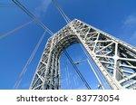 the george washington bridge... | Shutterstock . vector #83773054
