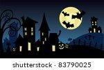 halloween scene image
