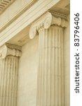 greek columns | Shutterstock . vector #83796406