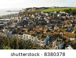 rooftop view  old town  hastings | Shutterstock . vector #8380378