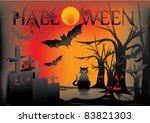 halloween | Shutterstock .eps vector #83821303