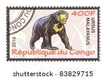 congo   circa 2010  a stamp... | Shutterstock . vector #83829715