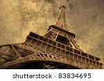 paris grunge | Shutterstock . vector #83834695