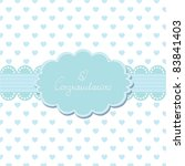 Baby Invitation Card With Your...