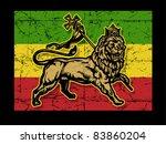 lion of judah flag | Shutterstock .eps vector #83860204