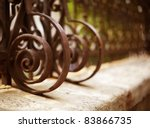 Wrought Iron Fence Detail  Fil...