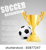 design with cup and ball   Shutterstock .eps vector #83877247