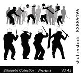 vector illustration.violent... | Shutterstock .eps vector #83889496