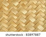 Bamboo Wood Texture  Handwork