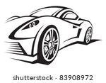 car | Shutterstock .eps vector #83908972