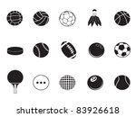 ball icons collection | Shutterstock .eps vector #83926618
