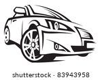 car | Shutterstock .eps vector #83943958