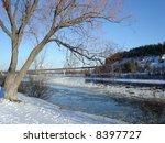 River winter scenic
