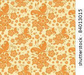 chinese pattern background | Shutterstock .eps vector #84013015