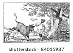 ancient,animal,antique,art,artist,artistic,artwork,bald,barking,black,british,bull,caricature,chased,cow
