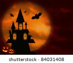 halloween night | Shutterstock . vector #84031408