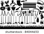 Illustration Of Gardening Tools ...
