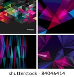 abstract backgrounds for design | Shutterstock .eps vector #84046414