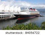 Cruise Ship Moored At Canada...