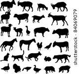 Stock vector farm animals vector 84069079