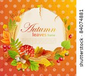 Autumn Vintage Greeting Card...