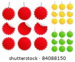 price tags | Shutterstock . vector #84088150
