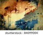 vector abstract art grunge...