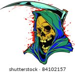 vector tattoo skull