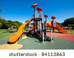 Playgrounds In Park And Nice...