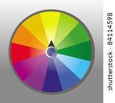wheel of fortune   Shutterstock .eps vector #84114598