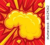 Постер, плакат: Explosion Comic Book Explosion