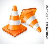 vector illustration   two... | Shutterstock .eps vector #84148840