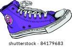 vector tattoo sneakers