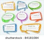 vector illustration of motley... | Shutterstock .eps vector #84181084