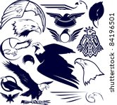eagle collection | Shutterstock .eps vector #84196501